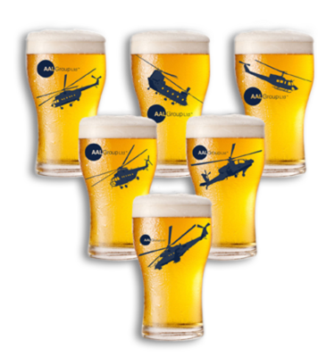 Product-beer glass