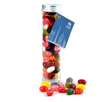 Jelly Beans Tube with Alu Lid 100g